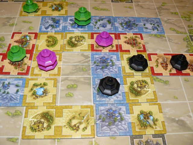 Qin Spielplan