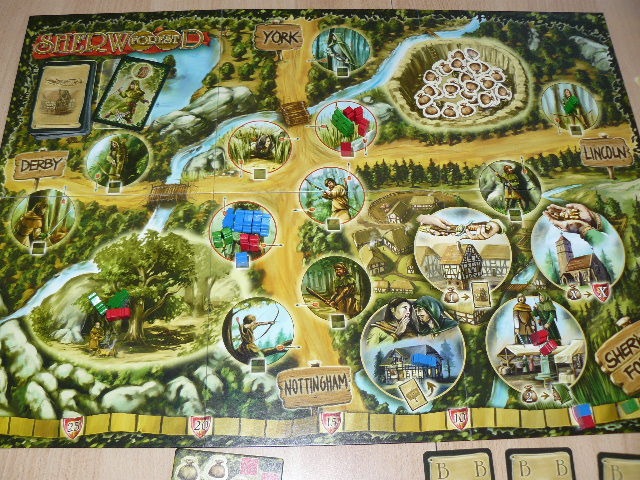 Accesorios del bosque de Sherwood