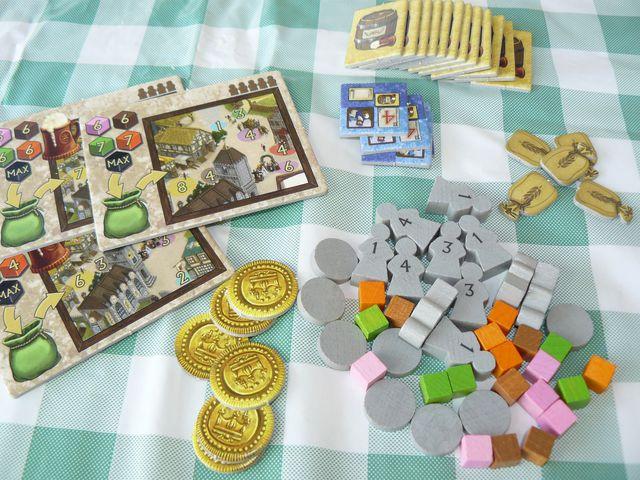 Village Inn Spielmaterial